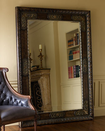 Edward Floor Mirror traditional-mirrors