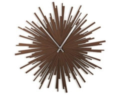 Umbra Starburst Wall Clock contemporary clocks