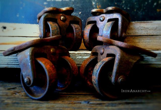 Antique Casters industrial-home-improvement