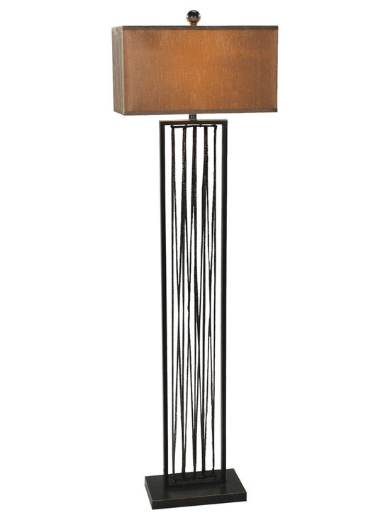 Sterling Home Draping Chains Floor Lamp Floor Lamp 92-254 - Sterling Home Draping Chains Floor Lamp Floor Lamp 92-254. This light Floor Lamp from the Floor Lamps collection by Sterling will enhance your home with a perfect mix of form and function.