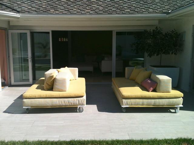 Daridan & Barrault Design Modern Patio Furniture And