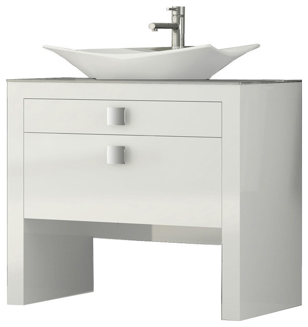 40 bathroom vanity white high gloss contemporary bathroom vanities