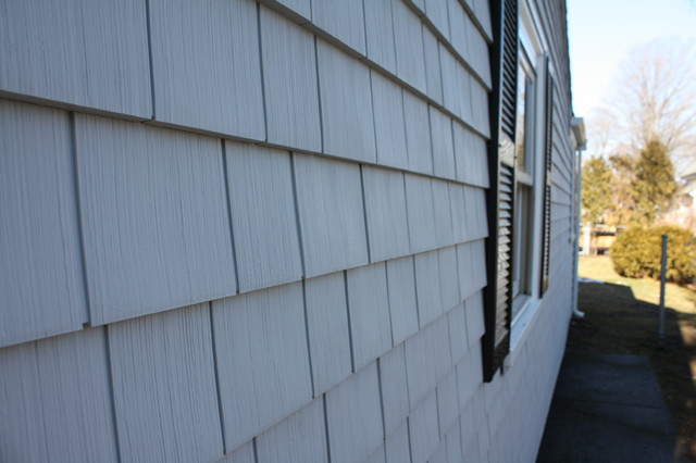 Certainteed Cedar Impressions Vinyl Siding Sterling Grey With Almar Building Boston on Kitchens By Design Sterling Ma