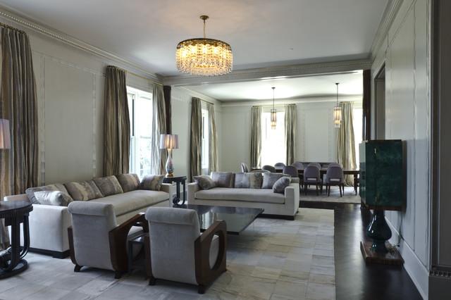 Manhattan Living Room contemporary-family-room