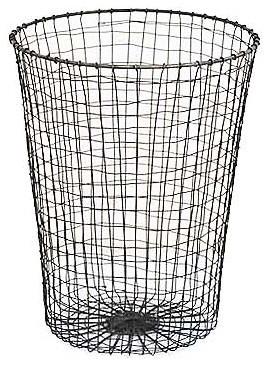 Wire paper bin