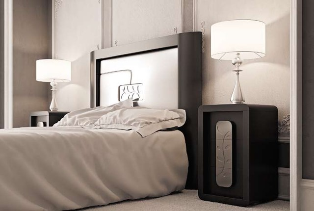 Macral Design Bedroom D13. Queen, Complete bedroom set modern-bedroom
