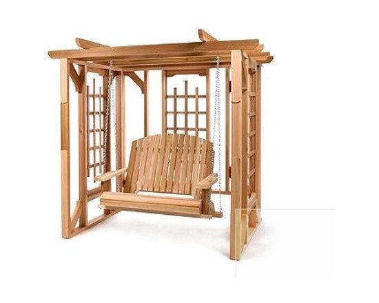 Pergola Swing Set -