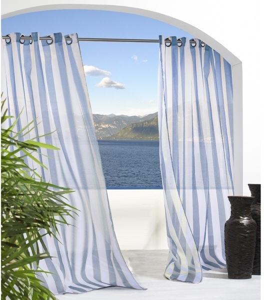 Stripe Cheer Outdoor Curtain outdoor-umbrellas
