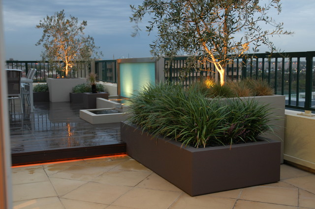 Planter boxes for Garden box landscape and design