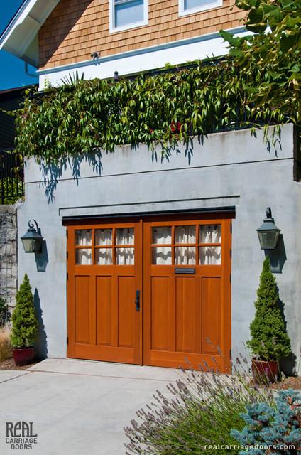 Outswing Carriage Garage Doors Eclectic Garage Doors
