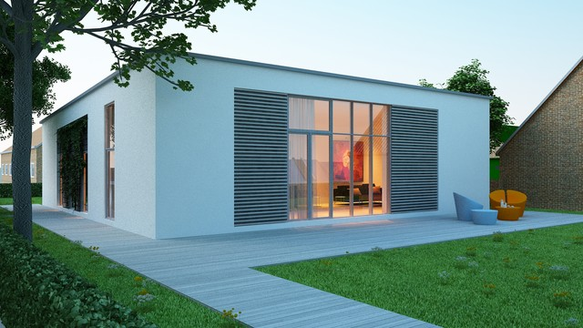 Funkis and passive house for Funkis house