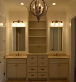 Painted Furniture Vanity Traditional Bathroom Vanity