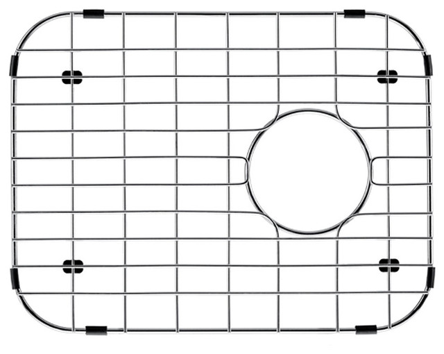 Vigo Kitchen Sink Bottom Grid 12in.  x 15in. contemporary-kitchen-sinks
