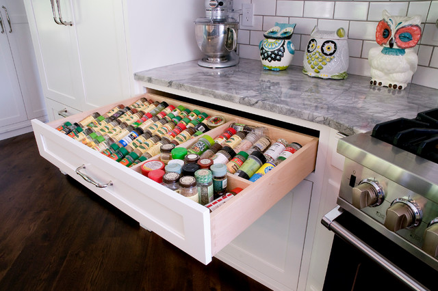 Custom Storage Solutions - Eclectic - Kitchen Drawer Organizers - atlanta - by Woodworks Design