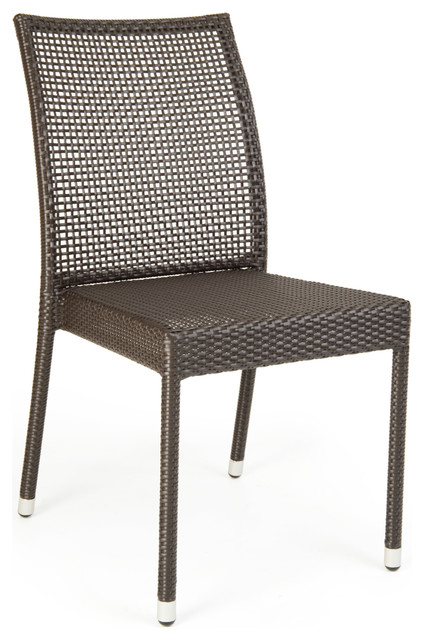 Wintons Teak Panama Stacking Chair Modern Outdoor Dining Chairs Other M