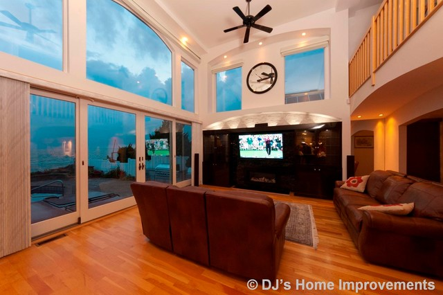 Custom Interiors by DJ's Home Improvements contemporary-living-room