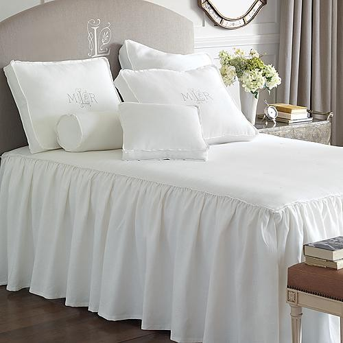 Leonara Bed Skirt Panels traditional-bedskirts