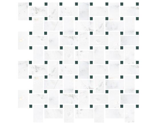 Hampton Carrara Basketweave Mosaic -