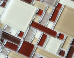 New hot tile, glass mosaic tile, glass tile COB0056 modern