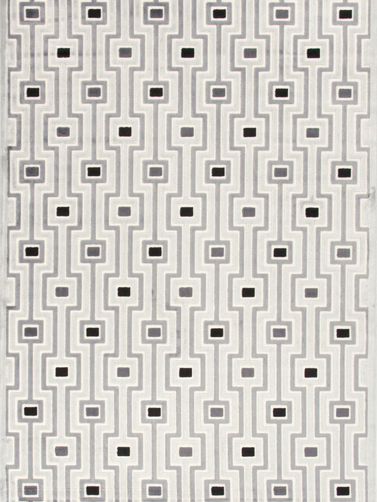 Jaipur Rugs - Machine Made Geometric Pattern Art Silk/ Chenille Gray/Black Area Rug (9 x 12) - Every design tells a story with the Fables Collection. This broad range, crafted in machine-tufted viscose & ultra-soft chenille, brings any space to life with its fashion-forward color palettes. With options suited to many styles and aesthetics, Fables brings together a diverse collection of patterns ranging from sophisticated transitional to boldly scaled contemporary.