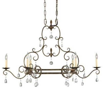 Chateau Island Light by Feiss ceiling-lighting