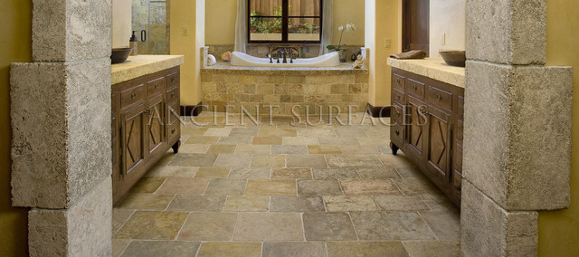 Master Bathrooms Tiles And Antique Limestone