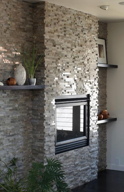 Grigio Vanadeco Modern Indoor Fireplaces Orlando