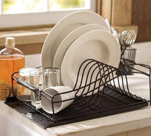 Cucina Dish Drying Rack - Modern - Dish Racks - by Pottery ...