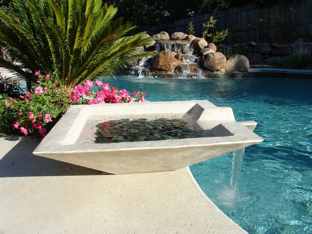 Fountains For Backyard Ponds : Modern Outdoor Fountains And Ponds modernoutdoorfountainsandponds