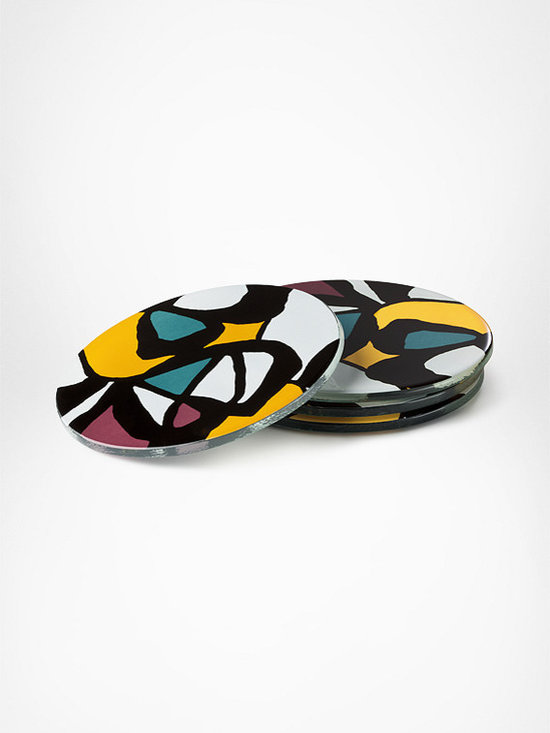 DVF Decal Coasters in Micro Flowers -