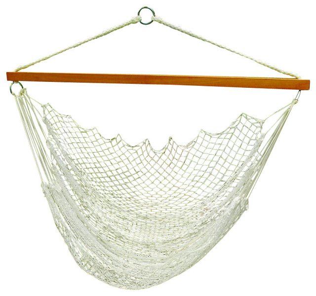 Hanging Nylon Net Chair - Modern - Hammocks And Swing Chairs - by ...