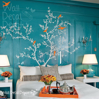 Vinyl Tree Wall Decal by Wall Decal Depot modern-decals