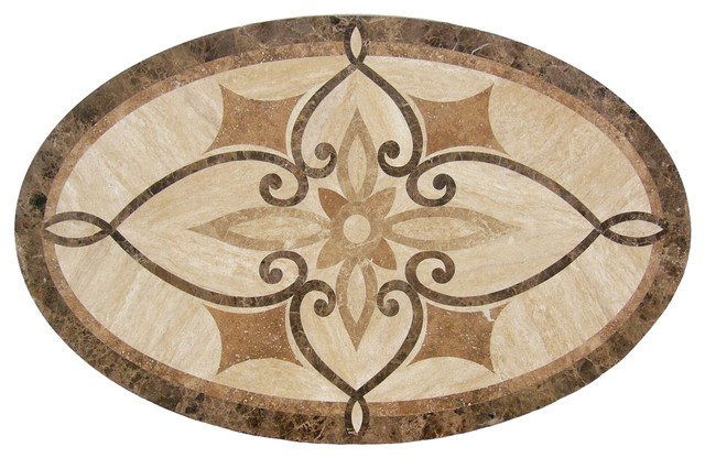 ... - Traditional - Wall And Floor Tile - by Floor Medallions Online