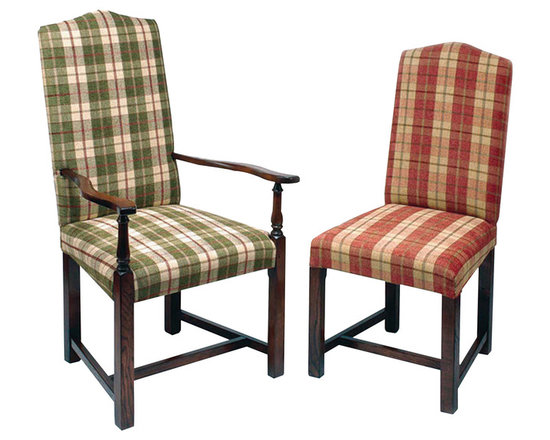Elizabethan Upholstered Dining Chair - Elizabethan Upholstered Dining Chair