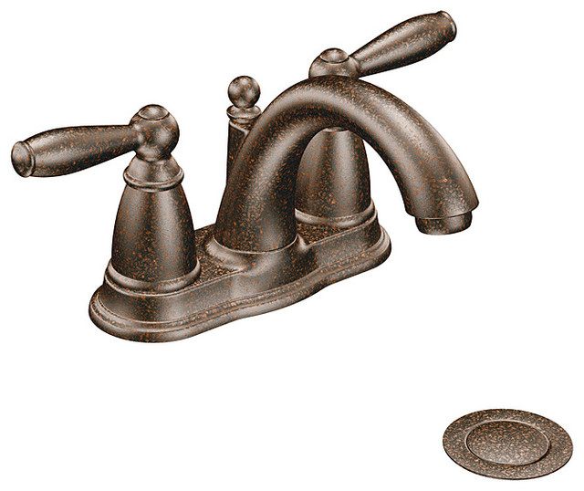 Moen 6610ORB Brantford Two Handle Oil Rubbed Bronze Bathroom Faucet Contemporary Bathroom Faucets on garden shed wine cellar