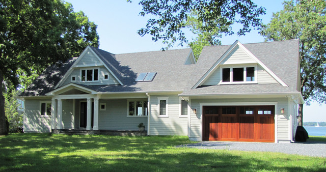 South River - Waterfront Home traditional-exterior