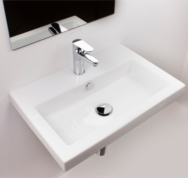 Beautiful Wall Mount Ceramic Bathroom Sink Modern Bathroom Sinks Philadelphia By