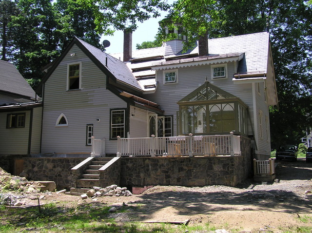 Renovation and Addition traditional-exterior