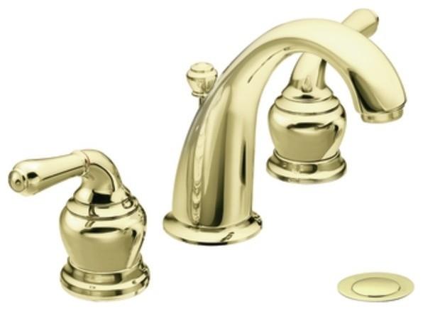 Moen T4572p Monticello Two Handle Widespread Bathroom Sink