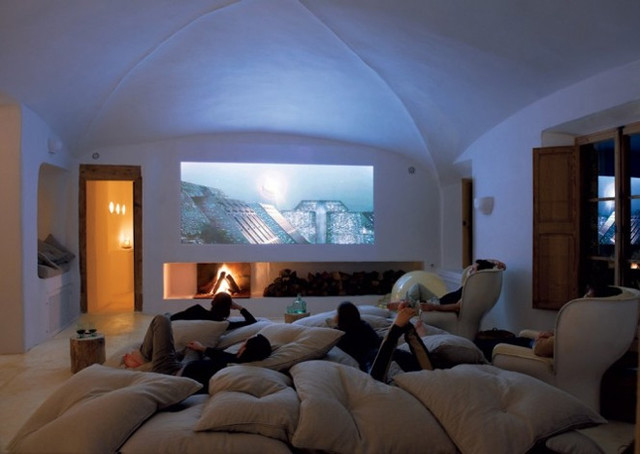 Caveman Home Theater