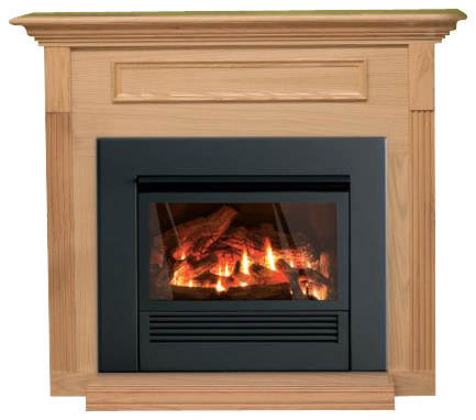 Mantis Fireplace Package Liquid Propane Traditional Indoor Fireplaces By Shop Chimney