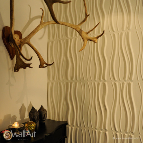 3dwalldecor project in Holland with 3dwallpaper wallpaper