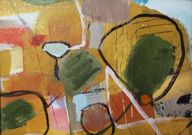 The Park, Original, Painting contemporary-paintings
