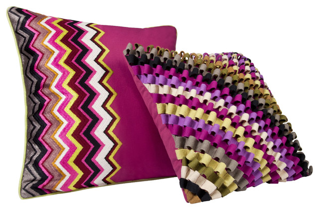 Missoni for Target®: Loops and Chevron Toss Pillows - pillows - by