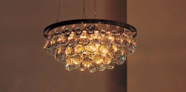 Ochre Arctic Pear Chandelier eclectic chandeliers