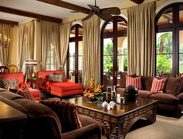 Jupiter florida project 1 mediterranean living room for Garden room jupiters