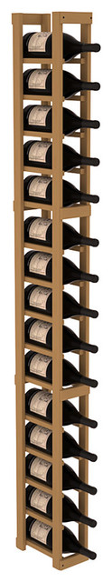 1 Column Magnum/Champagne Cellar Kit in Pine, Oak contemporary-wine-racks