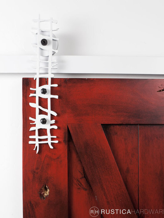 Barn Door Hardware - Inspired by the forest canopy twig barn door hardware is sure to turn a few heads.