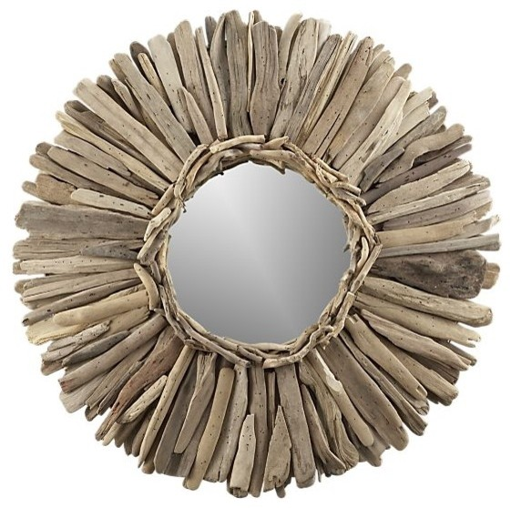 Driftwood Mirror eclectic-mirrors