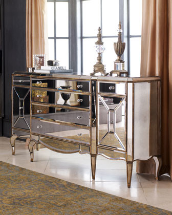 Jerilynn Mirrored Buffet traditional-buffets-and-sideboards